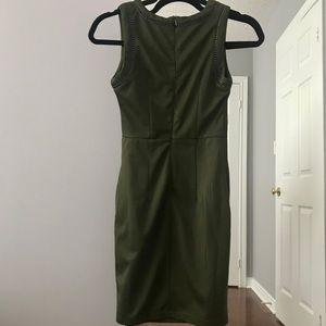 NWOT Olive Green Dress